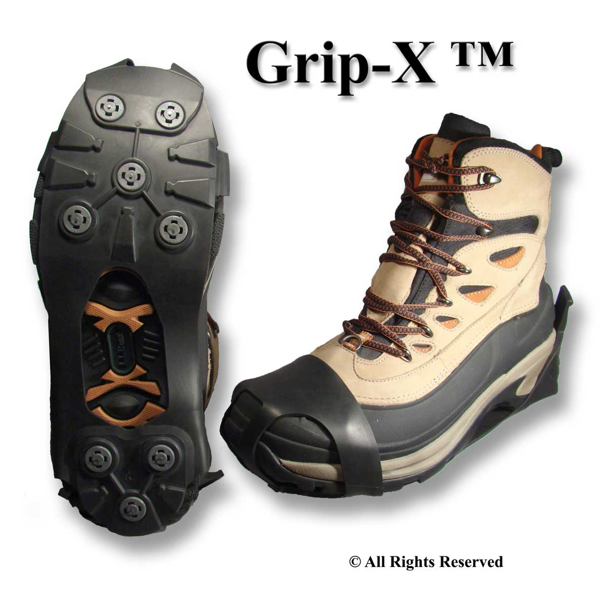 Winter Walking Grip-x Ice Cleats JD3500